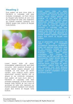 Bloom Word Template Second Inner Page