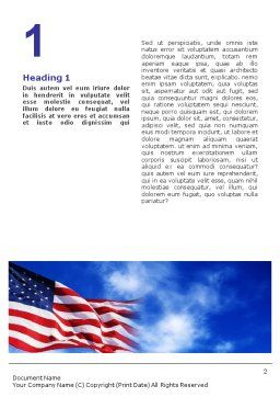 United States Capitol Building Word Template First Inner Page