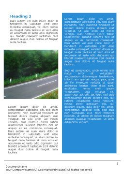 Road Word Template, Second Inner Page, 01769, Careers/Industry — PoweredTemplate.com