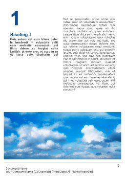 Future Perspective Word Template, First Inner Page, 01788, Business Concepts — PoweredTemplate.com