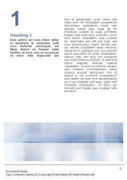Male Health Word Template, First Inner Page, 01799, Consulting — PoweredTemplate.com
