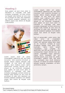 Baby Learning Word Template Second Inner Page