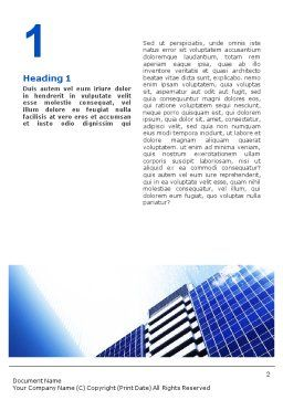 City Construction Word Template, First Inner Page, 01853, Construction — PoweredTemplate.com