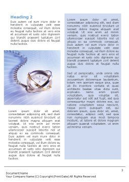Transient Time Word Template, Second Inner Page, 01864, Construction — PoweredTemplate.com
