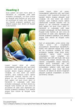 Corn Word Template Second Inner Page