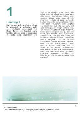 Urban Style Word Template, First Inner Page, 01913, Business — PoweredTemplate.com