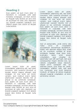 Urban Style Word Template, Second Inner Page, 01913, Business — PoweredTemplate.com