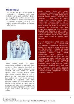 Abraham Lincoln Word Template Second Inner Page