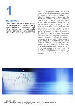Stock-Market Word Template First Inner Page