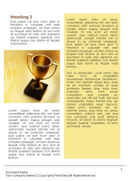 Winner Cup Word Template, Second Inner Page, 01933, Sports — PoweredTemplate.com
