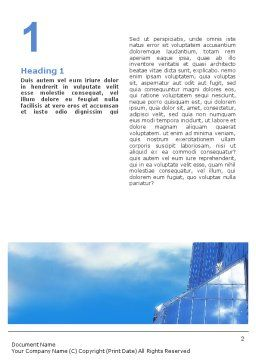 Architectures At The Building Site Word Template, First Inner Page, 01938, Business — PoweredTemplate.com