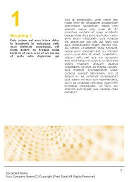 Rhombus Theme Word Template, First Inner Page, 01954, Abstract/Textures — PoweredTemplate.com