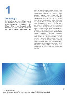 Office Building Hall Word Template, First Inner Page, 01957, Business — PoweredTemplate.com
