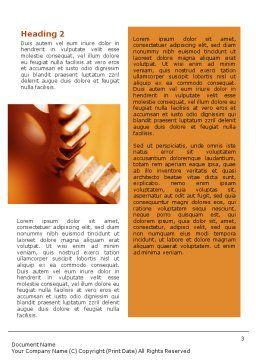 Gear Word Template, Second Inner Page, 01959, Construction — PoweredTemplate.com