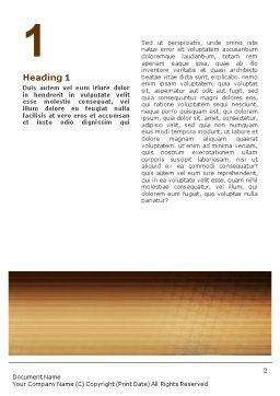 Business Discussion Word Template, First Inner Page, 01963, Business — PoweredTemplate.com