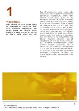Boxing Training Word Template, First Inner Page, 01965, Sports — PoweredTemplate.com