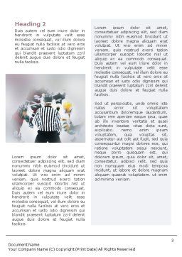 Ice Hockey Referee Word Template, Second Inner Page, 01973, Sports — PoweredTemplate.com