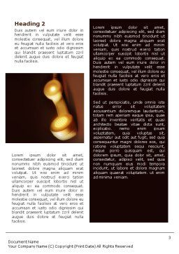 Telephone Word Template Second Inner Page