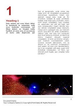 Astronomical Research Word Template First Inner Page
