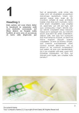 Technical Design Word Template, First Inner Page, 02009, Construction — PoweredTemplate.com