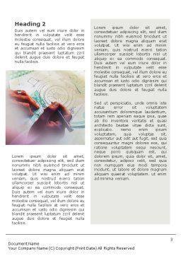 Technical Design Word Template, Second Inner Page, 02009, Construction — PoweredTemplate.com
