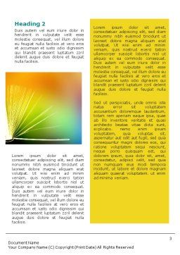 Book Word Template Second Inner Page