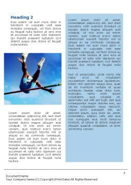 High Jump Word Template, Second Inner Page, 02020, Sports — PoweredTemplate.com