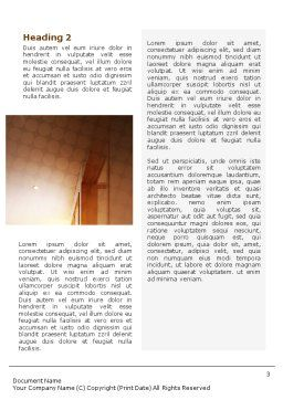 Apartment Design Word Template, Second Inner Page, 02035, Careers/Industry — PoweredTemplate.com