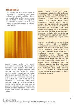 Paper-Mill Word Template, Second Inner Page, 02047, Utilities/Industrial — PoweredTemplate.com