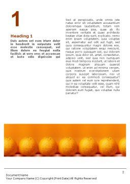 Standing Out Word Template, First Inner Page, 02054, Business Concepts — PoweredTemplate.com