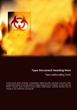 Biodegradable Word Template, Cover Page, 02073, Nature & Environment — PoweredTemplate.com