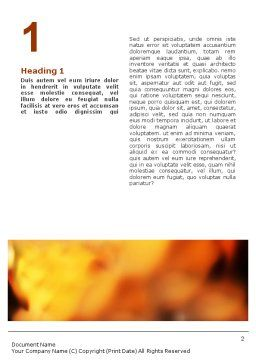 Biodegradable Word Template First Inner Page