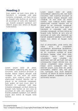 Gastroenterology Word Template, Second Inner Page, 02075, Medical — PoweredTemplate.com