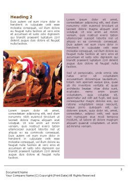 Dog Racing Word Template, Second Inner Page, 02077, Sports — PoweredTemplate.com