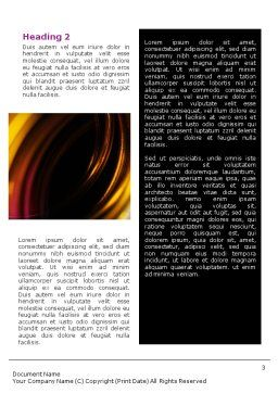 Whirlpool Word Template, Second Inner Page, 02087, Abstract/Textures — PoweredTemplate.com