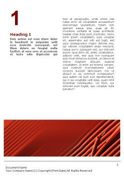 Cabling Word Template, First Inner Page, 02095, Construction — PoweredTemplate.com