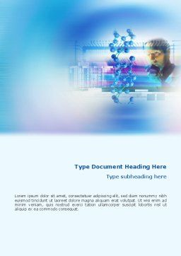Manufacturing Techniques Of Polymers Word Template, Cover Page, 02096, Technology, Science & Computers — PoweredTemplate.com