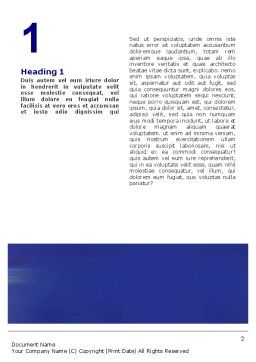 Business Relations In A Corporation Word Template, First Inner Page, 02114, Business — PoweredTemplate.com