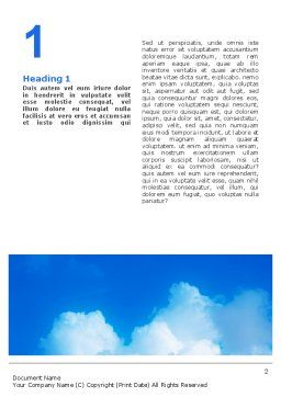 Templat Word Tangan Anak, Halaman Dalam Pertama, 02117, Keagamaan — PoweredTemplate.com