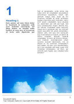 Children Hands Word Template, First Inner Page, 02117, Religious/Spiritual — PoweredTemplate.com
