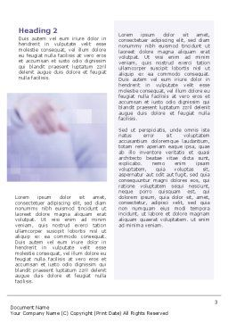 Humiliation Word Template, Second Inner Page, 02124, Consulting — PoweredTemplate.com