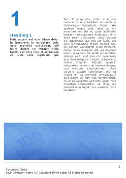 Money Laundering Word Template, First Inner Page, 02131, Financial/Accounting — PoweredTemplate.com