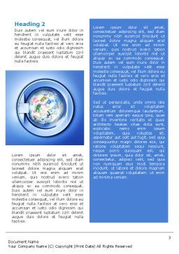 Money Laundering Word Template, Second Inner Page, 02131, Financial/Accounting — PoweredTemplate.com