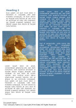 Sphinx Word Template, Second Inner Page, 02144, Flags/International — PoweredTemplate.com