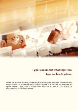 Medicine Prescription Word Template Cover Page