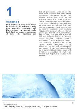 Fur-Seal Word Template, First Inner Page, 02230, Agriculture and Animals — PoweredTemplate.com