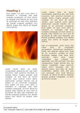 Fire Extinguishing Word Template, Second Inner Page, 02265, Careers/Industry — PoweredTemplate.com