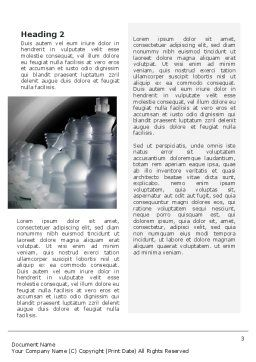 Chess Troops Ready To Fight Word Template, Second Inner Page, 02273, Business — PoweredTemplate.com