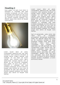 Activate Idea Word Template Second Inner Page