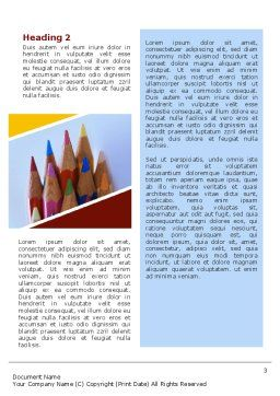 Pencil Word Template Second Inner Page